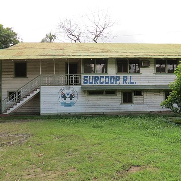 Las instalaciones centrales de Surcoop están en Palmar de Osa. La cooperativa alega que necesita del apoyo del Estado, mediante la condonación de préstamos de instituciones públicas, para estabilizar su operación.   ALFONSO QUESADA