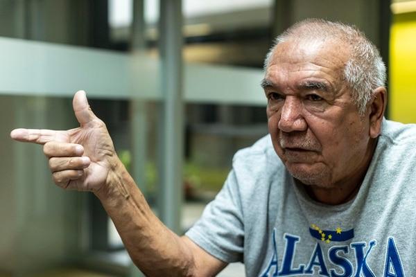 Carlos Marín, padre de dos ofendidas por el caso White House, pide a las familias de otros seis fallecidos en el 2008, en casos similares al de su hija Yerlin, que insistan ante la justicia para inculpar a los responsables. Fotografía: José Cordero.