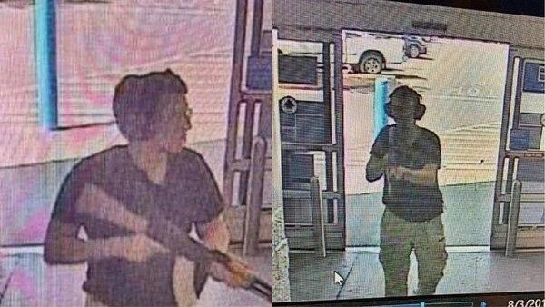 Patrick Crusius, captado por cámaras de vigilancia, cuando ingresaba a la tienda de Walmart en Cielo Vista Mall en El Paso, Texas, el 3 de agosto del 2019.