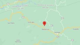 Temblor moderado sacude parte oeste del Valle Central y la zona de Los Santos