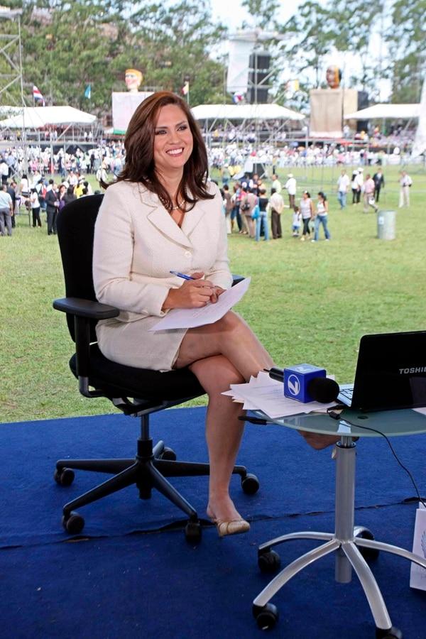 Lizeth Castro, periodista.