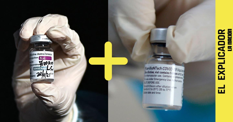 El Explicador | La combinación de una dosis de AstraZeneca + una de Pfizer da más defensas que los esquemas de vacunación normal