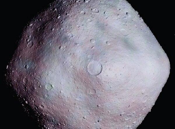 asteroide, foto con fines ilustrativos