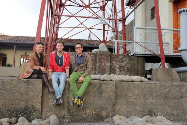 Adriana Collado-Chaves, Daniel Soto Morúa y Osvaldo López López (de izquierda a derecha).