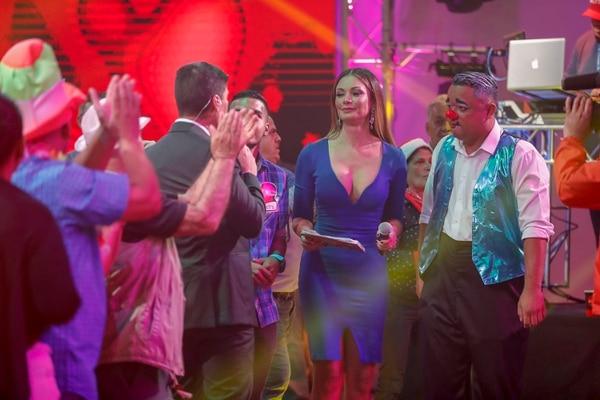 Marilyn Gamboa continuará en el elenco de presentadores de El Chinamo, al que se sumarán dos nuevos rostros femeninos este año. Fotografía: José Cordero.