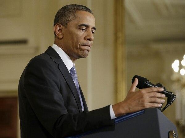 El presidente Barack Obama, en la conferencia del viernes para anunciar las reformas al programa de espionaje. | AP