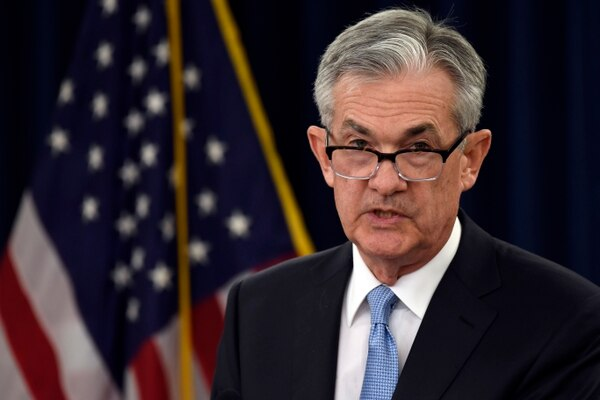 """Jerome Powell, presidente de la FED, subrayó que serán drásticos en su plan de ser """"paciente"""" ante cualquier aumento adicional. Foto: AP."""