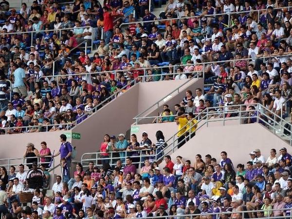 La organización espera que el Estadio Nacional luzca lleno. | ARCHIVO