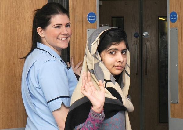 Malala fue atacada por los talibanes, que quiisieron poner fin a su campaña en favor de la escolarización de las niñas.