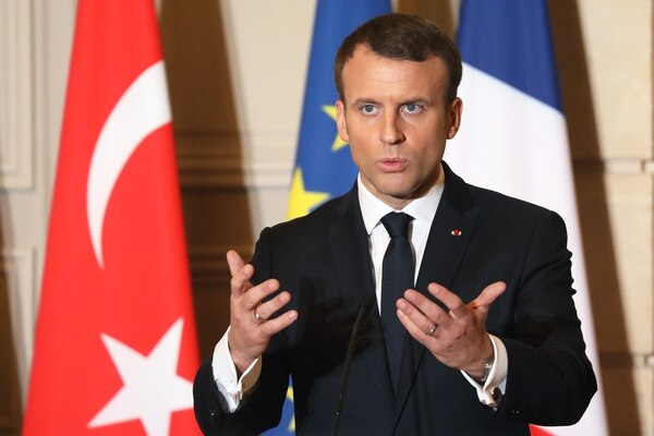 Erdogan intentará restablecer las relaciones con Europa en las conversaciones con Macron en París. AFP