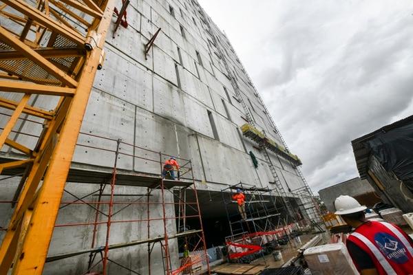 12 de setiembre del 2019. Recorrido por lo que será la nueva sede de La Asamblea Legislativa. Fotografía: Jorge Castillo
