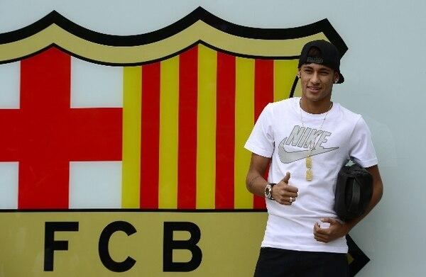 En el Barça se le ha recibido ya con los brazos abiertos. | AFP.