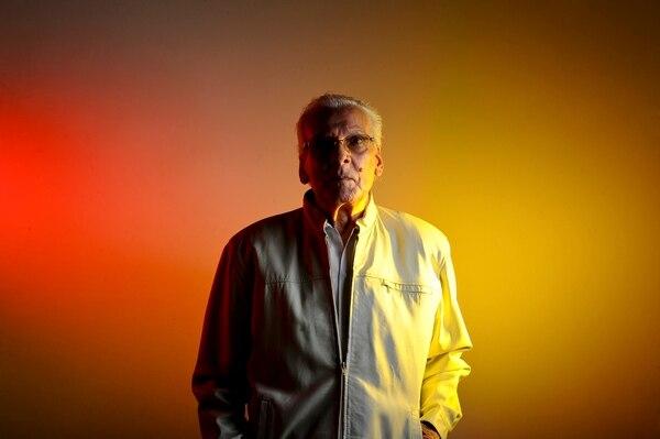 Ronald Alfaro Calvo se había retirado de la música hace unos 12 años. Pasó sus últimos días en su casa en Tibás. Fotos: Jorge Navarro