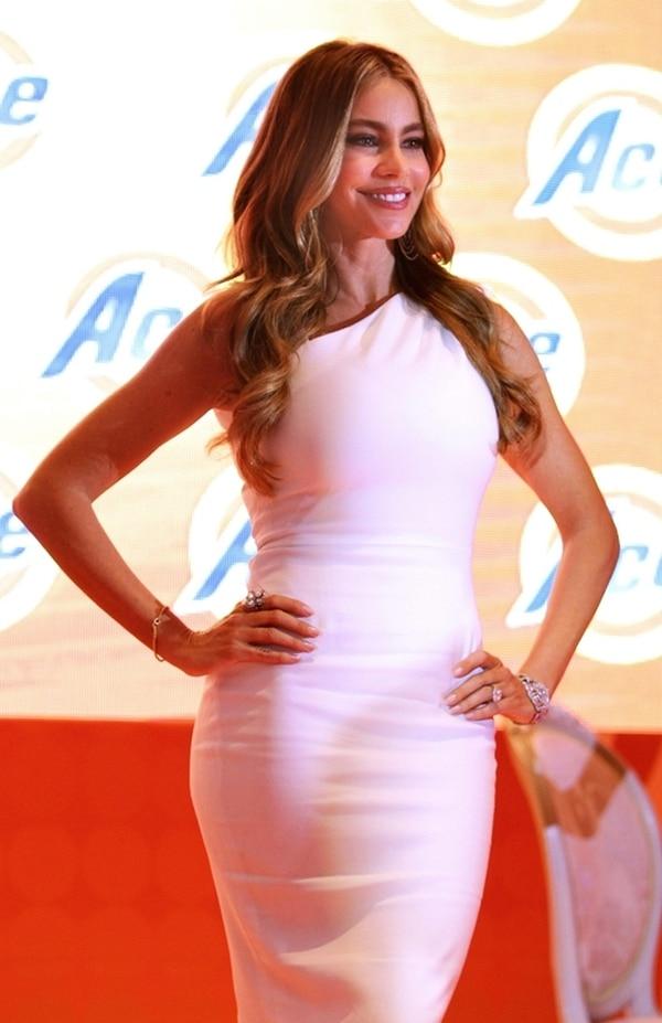 Diva latina. La guapa Sofía Vergara está en el puesto 54 de la lista. EFE.
