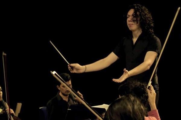 La Orquesta Sinfónica Nacional abrió su V Concierto de Temporada Oficial 2019 con 'Venus', la obra del compositor Gabriel Morera Córdoba, ganador del concurso Jóvenes Compositores 2018. Foto: Archivo LN