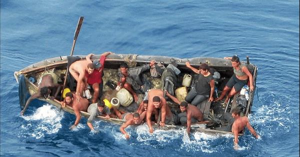 La diáspora cubana es uno de los más trágicos momentos de la saga humana sobre el planeta. Archivo.