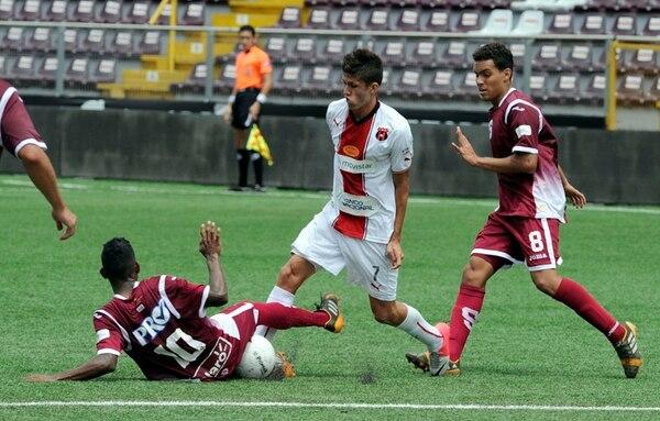 Generación Saprissa triunfó 1-0 ante Alajuela Jr. | ALONSO TENORIO