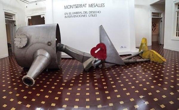 El Museo Calderón Guardia se ubica 100 m al este y 100 m al norte de la iglesia Santa Teresita, en barrio Escalante. FOTO: Montserrat Mesalles para LN
