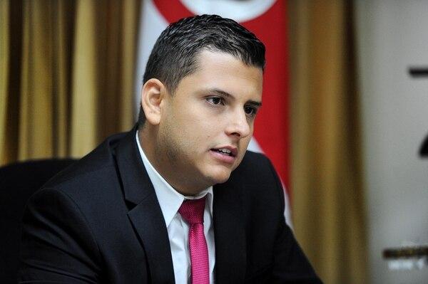 Daniel Ulate, diputado de Liberación Nacional y promotor del proyecto de rastreo de licores. Foto: Melissa Fernández Silva