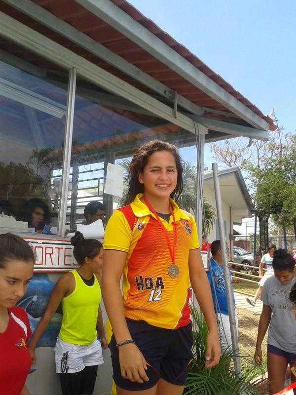 La costarricense María Fernanda León clasificó a los Juegos Olímpicos de la Juventud Nanjing 2014