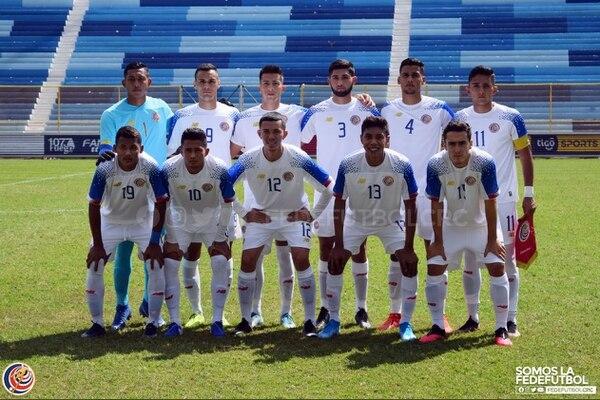 La Selección Sub-23 venció 1-0 a El Salvador, en un fogueo disputado en el Estadio Cuscatlán. Fotografía: Prensa Fedefútbol