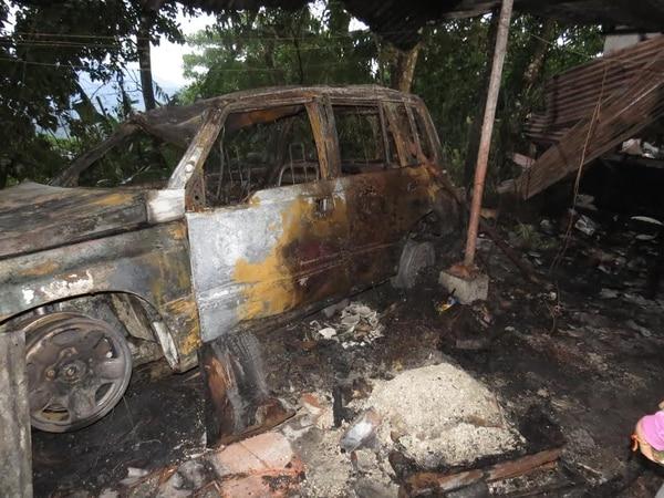 Los análisis de los expertos permitieron determinar que el origen del fuego estuvo en la instalación eléctrica vehículo. Ello descarta que hubiese mano criminal o que un rayo fuera la causa.