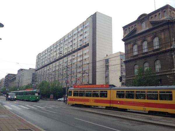 La ciudad de Belgrado tiene un sistema de tranvía que permite recorrerla con facilidad. Fotografía: Jairo Villegas S.