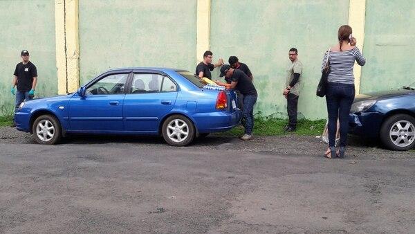 A Espinoza lo detuvieron en Limonal de Orotina. | MARVIN GAMBOA