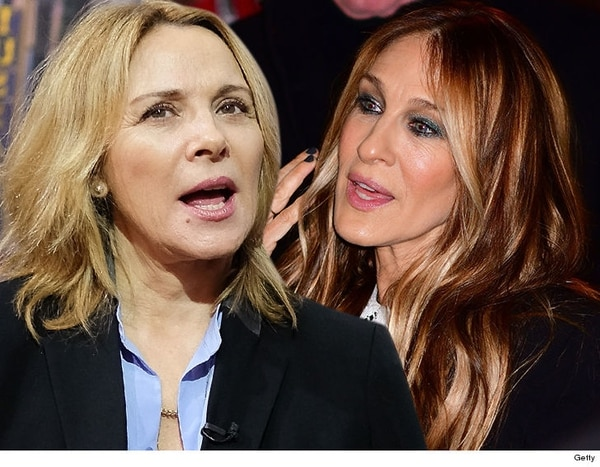 Sarah Jessica Parker y Kim Cattrall.