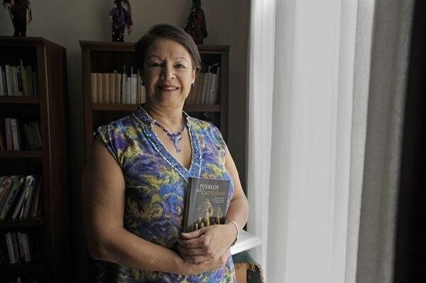 Eugenia Ibarra agradeció el premio y el apoyo de la Universidad de Costa Rica.Pablo Montiel.Reconocimiento.