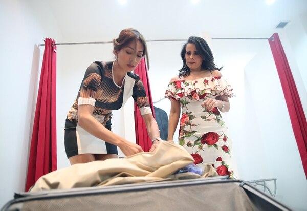 La Miss Costa Rica lleva al Miss Universo 11 vestidos de gala para lucir en las actividades trascendentales del concurso, como la preliminar y noche final. Fotografia: John Durán