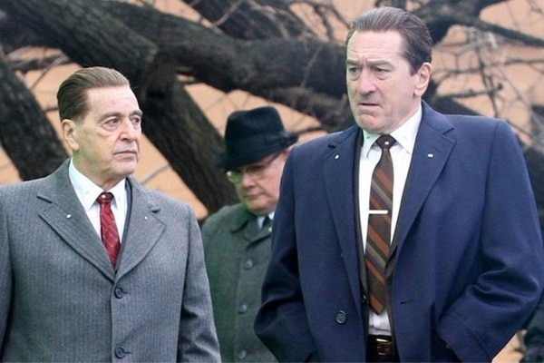 The Irishman, Robert de Niro