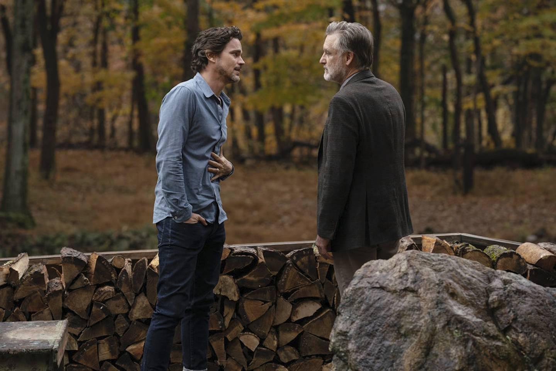 Los actores Bill Pullman y Matt Bomer son los protagonistas de la tercera temporada de The Sinner. Fotografía. USA Networks para La Nación