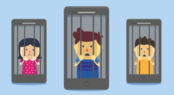 La mayoría de los estudiantes dijo que el celular fue el medio por el cual sufrieron este tipo de acoso.