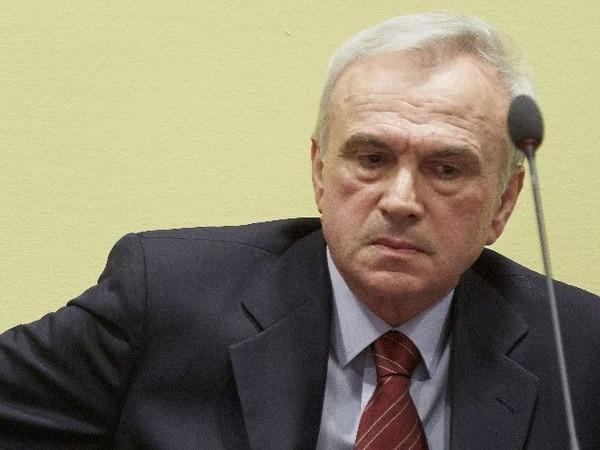 Jovica Stanisic era acusado por crímenes contra la humanidad y crímenes de guerra. | AFP.