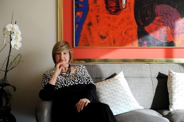 Rosemarie Karpinski tiene 82 años y recuerda cada detalle de sus épocas como académica y política. Fotografías: Melissa Fernández.