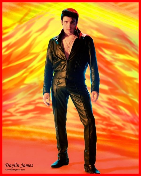 Daylin James se gana la vida gracias a su parecido físico y vocal con el legendario Elvis Presley. El imitador es ya un nombre de peso en la escena de Las Vegas.