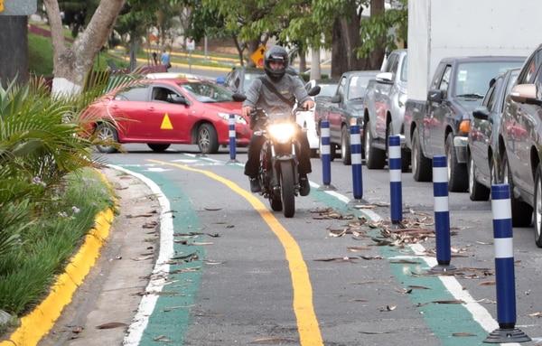Alternar bicicleta y tren en San José
