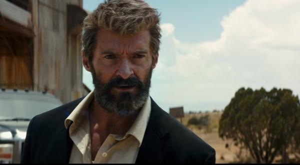 Así luce Hugh Jackman en 'Logan' (2017).