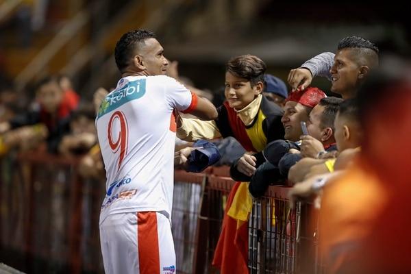Cristhiam Lagos jugó en Santos de Guápiles y Jicaral antes de llegar a Turrialba en la división de ascenso. Fotografía: José Cordero