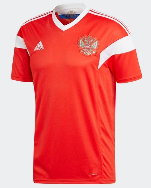 Los anfitriones portarán un estilo sencillo y apegado a sus colores  nacionales para el Mundial. 42ea86ca6c043