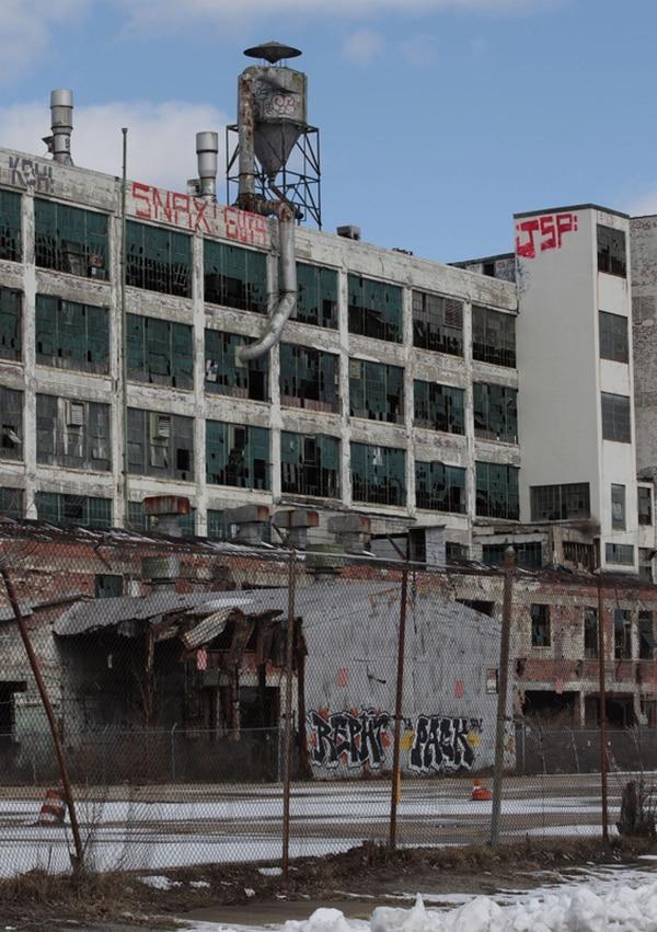 Así está la planta 21 de la industria automotriz General Motors Fisher Body, en Detroit, Michigan. | EFE