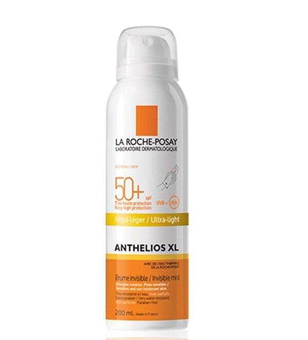 Anthelios XL Bruma Invisible SPF 50+ ofrece la más alta protección contra rayos UVA-UVB. Posee una textura ligera e invisible.