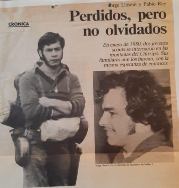 Lo que pasó con los dos scouts en el Urán es un misterio. Ahora son parte de una leyenda. Foto: Archivo: Nación.
