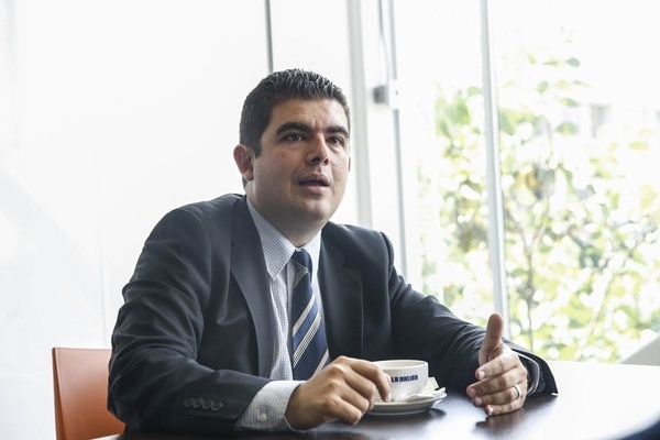Álvaro Ramos, superintedente de pensiones. Archivo.