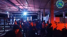 120 personas se aglomeraron en torneo de artes marciales clandestino en Limón