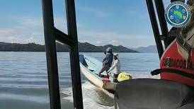 Guardacostas detectan nuevo forma de camuflar redes de pesca ilegales en el golfo de Nicoya
