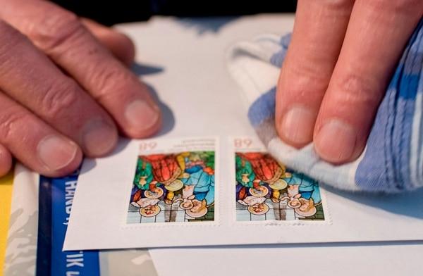 Todos los años, la oficina postal temporal de la villa