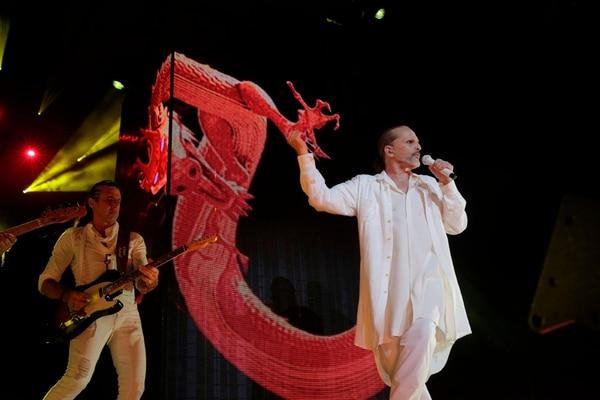 En sus conciertos recientes, Bosé ha cantado temas de sus discos Bandido, Papito, Cardio y Amo . CORTESÍA DE ONE ENTERTAINMENT