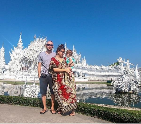 El White Temple es un templo contemporáneo budista e hinduista, ubicado en la provincia de Chiang Rai, Tailandia. Fotografía: Cortesía